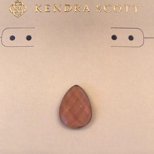 Kendra Scott Jewelry - Kendra Scott brynn purple clear stone